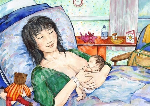 Baby Kio Milky Moments Print